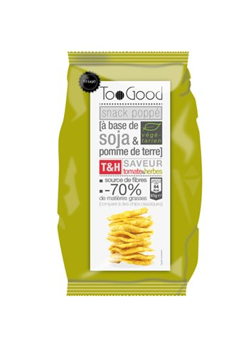 Chips poppé au Tomate&Herbes 85G