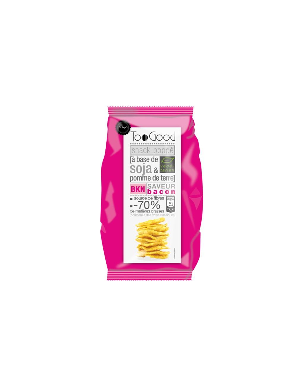 Chips poppé au Bacon 85G