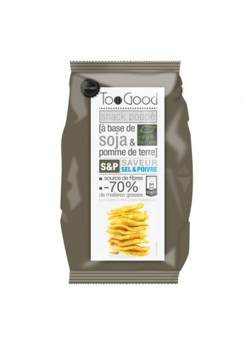 Gepopte chips met Zout & Peper 85g