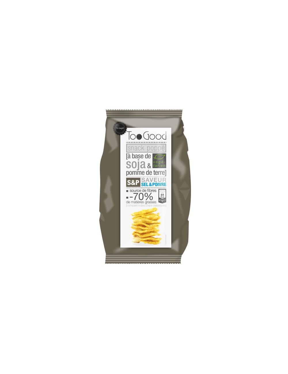 Chips poppé au Sel&Poivre 85G