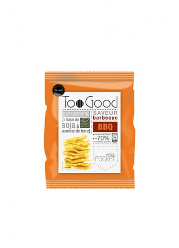 Chips poppé au Barbecue 25G
