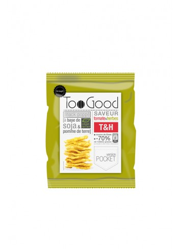 Chips poppé au Tomate&Herbes 25G