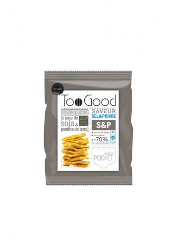 Gepopte chips met Zout & Peper 25g