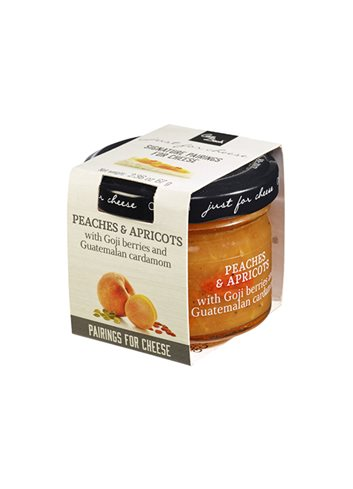 Mini Just for Cheese Pêche, abricot & baies goji 67g