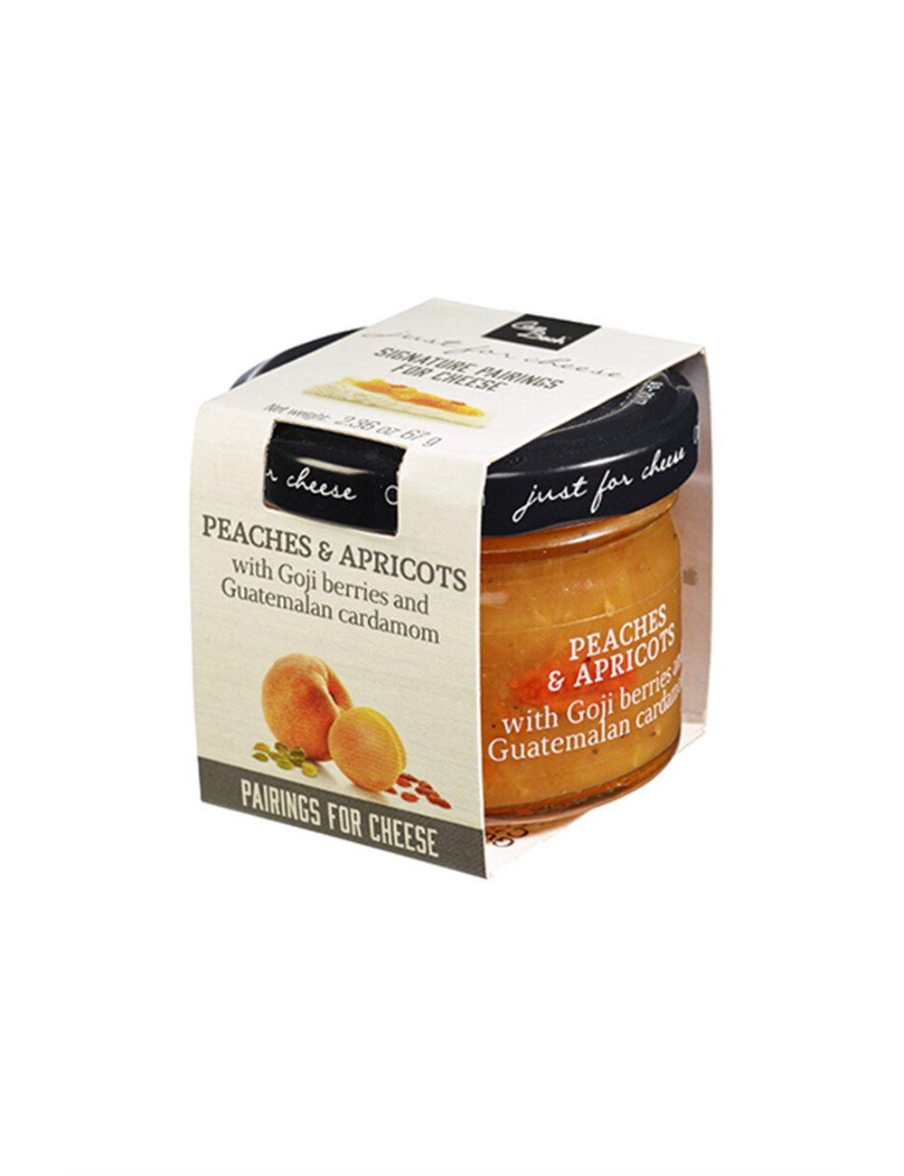 Mini Just for Cheese Perzik, abrikoos & Gojibessen 67g