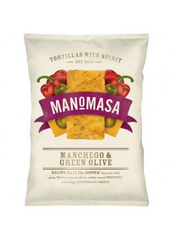 Tortilla fromage manchego & olives verte (rectangle) 160g