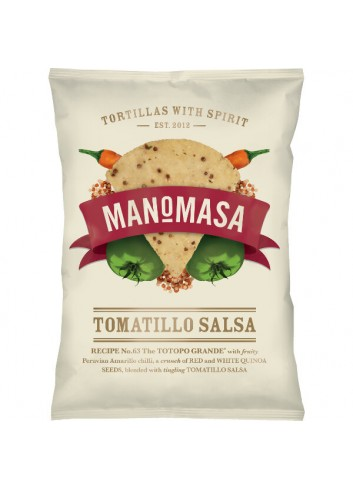 Tortilla Tomatillo Salsa met chilli & quinoa 160g