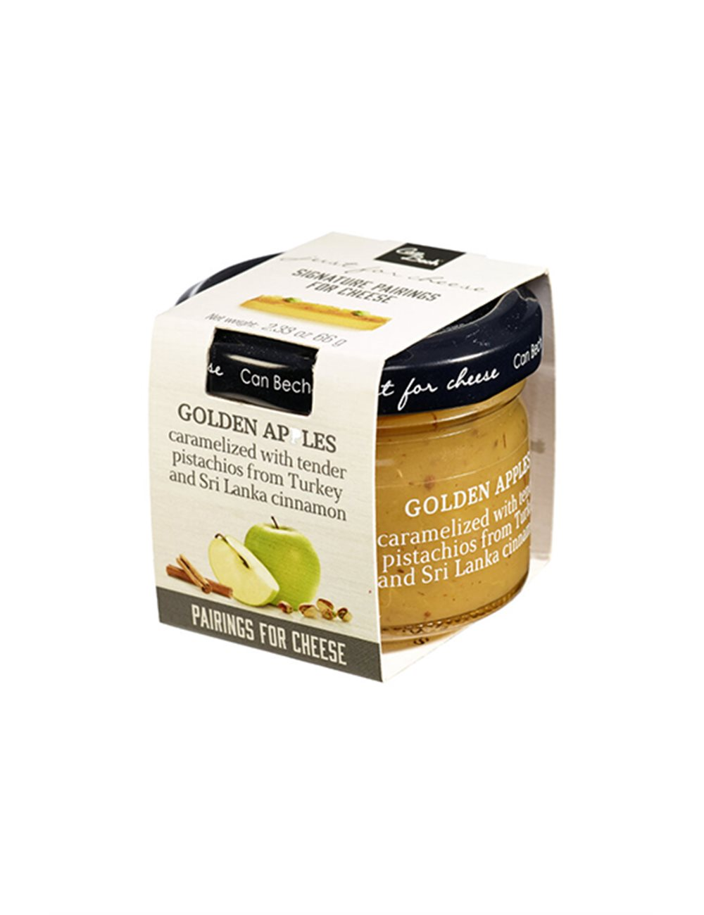 Mini Just for Cheese pommes golden aux pistaches & canelle 66g
