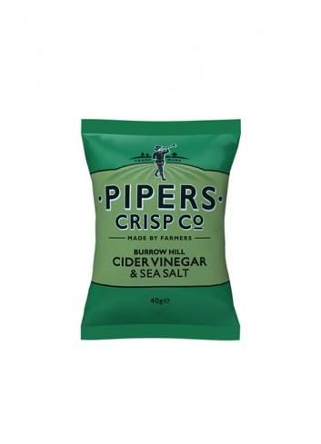 Chips Burrow Hill Vinaigre de Cidre & Sel 40g