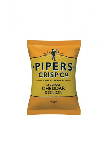 Lye Chips Cross Cheddar & Onion 40g