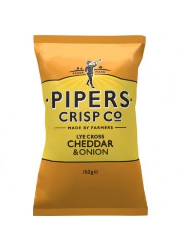 Lye Chips Cross Cheddar & Onion 150g