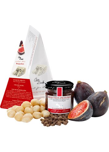 Just for Cheese Figues noires, macadamia & allspice Jamaicain 115g