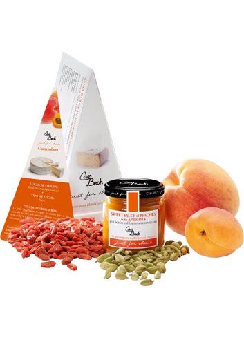 Just for Cheese Pêche, abricot & baies goji 108g