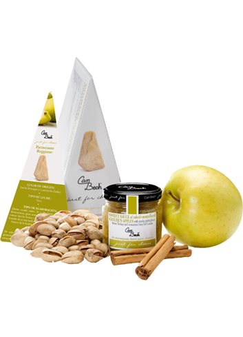 Just for Cheese Golden appel met pistache en kaneel 110g