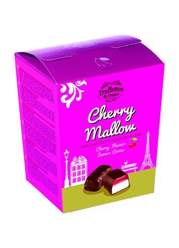 Marshmallows Kers  zwarte Chocolade 100g