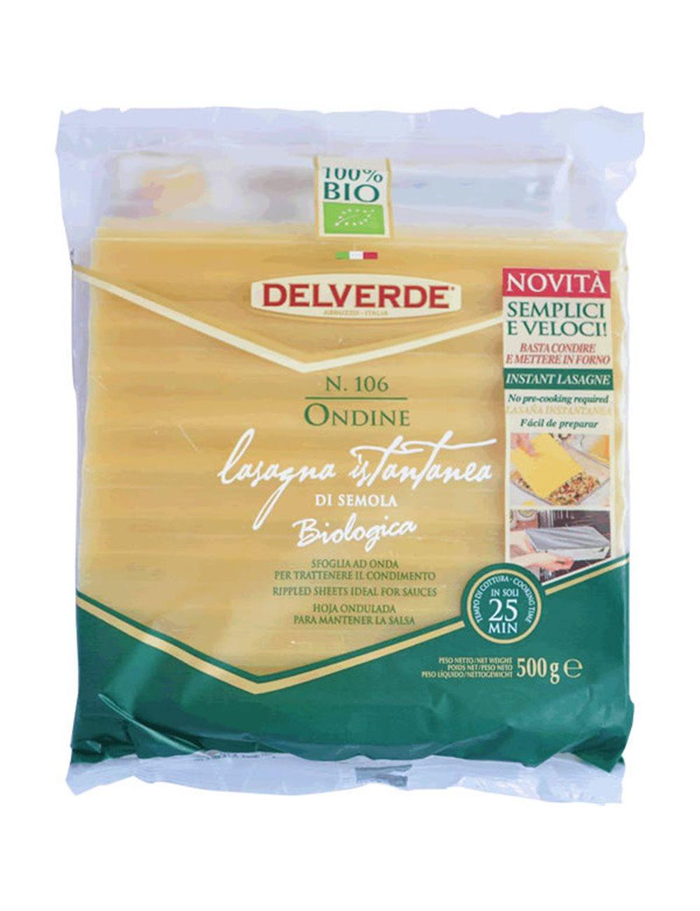Lasagne Ondine Semola BIO 500g