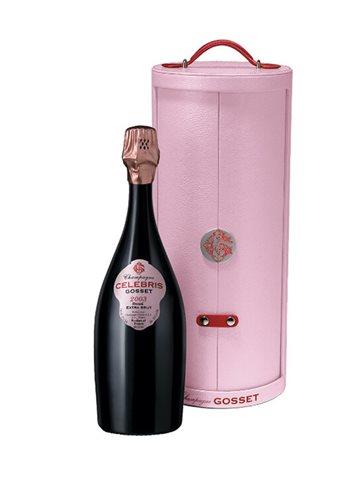 Champagne Célébris Rosé coffret 75cl