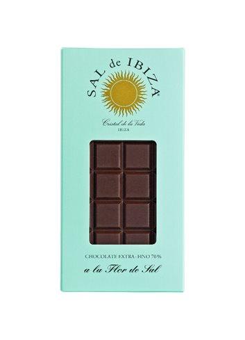 Chocolat BIO noir à la fleur de sel 80g