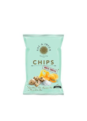 Fleur de Sel Chips met witte truffel  45g