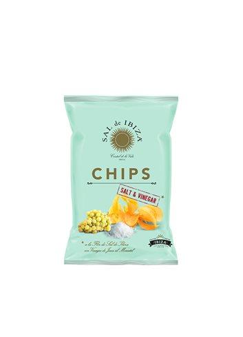 Chips à la Fleur de Sel & au vinaigre moscatel 45g