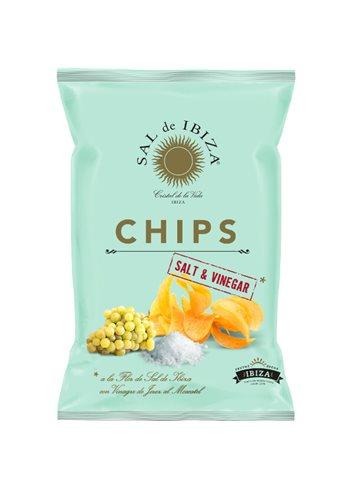 Fleur de Sel Chips met moscatel azijn 125g