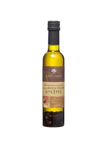 Huile d'olive et cèpes 25cl