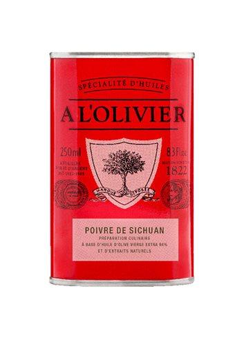 Bid. Rouge Huile d'Olive Poivre de Széchuan 250ml