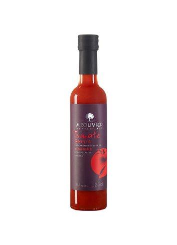 Azijn van tomatenpulp en basilicum 25cl