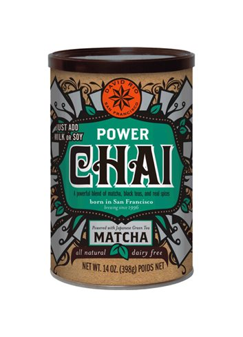 Power Chai with Matcha 398g