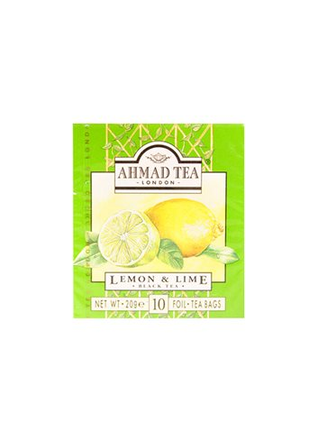 Lemon and Lime Teabags 10's