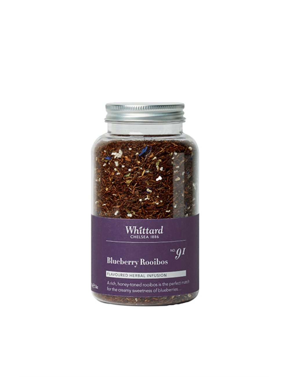 Bouteilles infusions - Blueberry Rooibos 150g