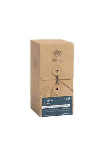 Individueel verpakte zakjes 25s - English Rose 50g