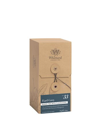 Individueel verpakte zakjes 25s - Earl Grey 50g