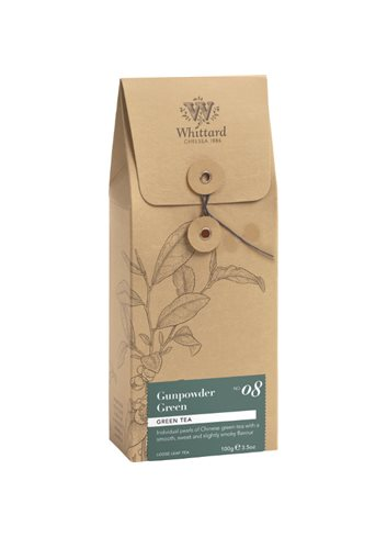 Losse thee pouch - Gunpowder Green 100g