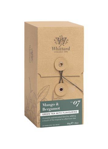 Individueel verpakte zakjes 25s - Mango & Bergamot 50g