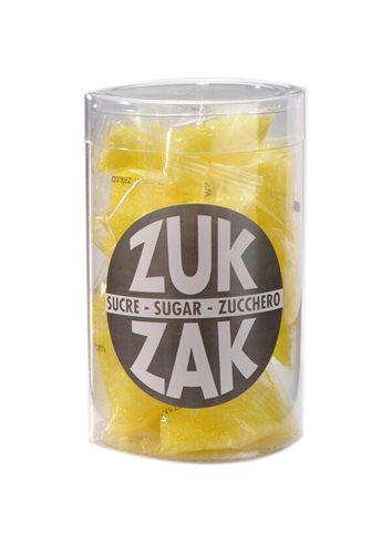 3-Hoekig Suikerzakjes(30 st.) Geel