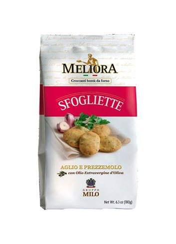 Sfogliette met look & peterselie 180g