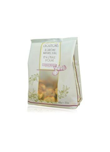 Croutons met olijfolie met look geparfumeerd 100g