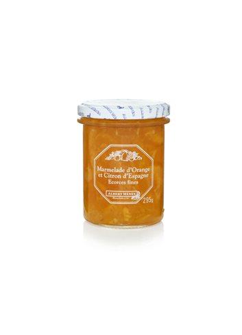 Marmelade d'Orange et de Citron d'Espagne Ecorces Fines 295 g