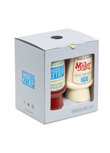 Gift Box (Ketjep/Mayo/Dallas/Cowboy) 4x300ml