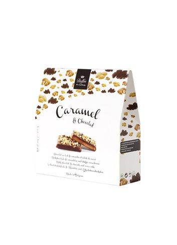 Caramel & Chocolat Amandelen 200g