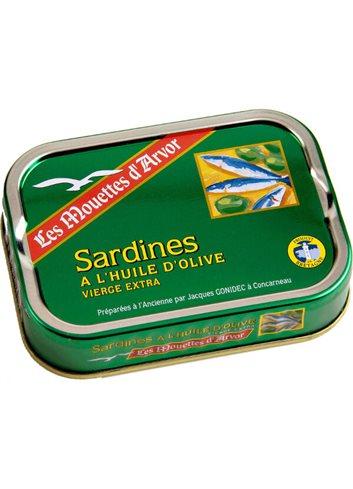 Sardines a l'huile d'olive 115g