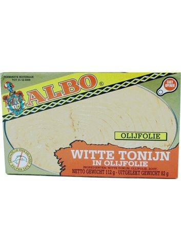 """Witte Tonijn """"Olijfolie"""" 112g"""