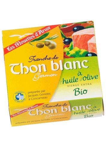 Thon Blanc à l'Huile d'Olive BIO 80g