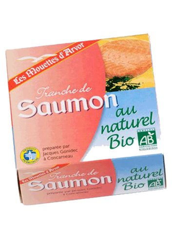 Saumon au Naturel BIO 112g