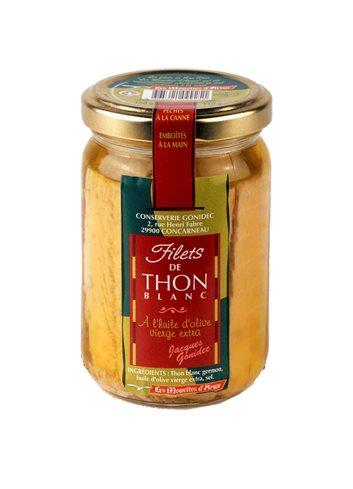 Filets de thon blanc Germon bocal 180g