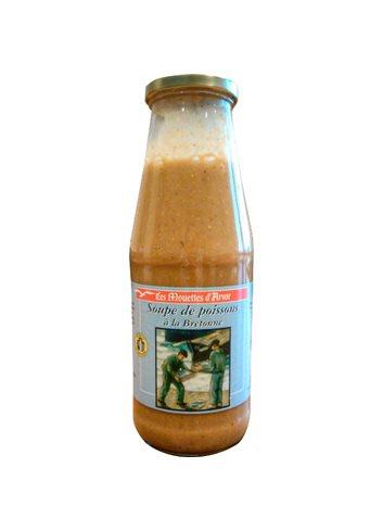 Soupe de Poissons Bretonne Bocal 660ml