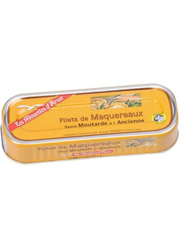Filets Maquereaux Sauce moutarde à l'ancienne 169g
