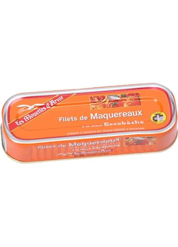 Filets Maquereaux Sauce Escabèche 169g