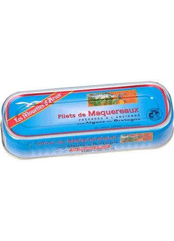 Filets Maquereaux Aux algues de Bretagne BIO 176g
